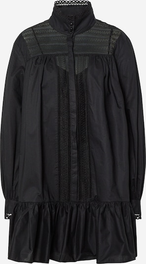 Custommade Kleid 'Elorie' in schwarz, Produktansicht