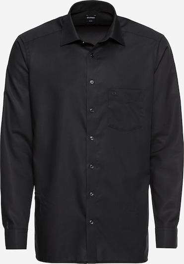 OLYMP Hemd 'Luxor Uni Pop' in schwarz, Produktansicht