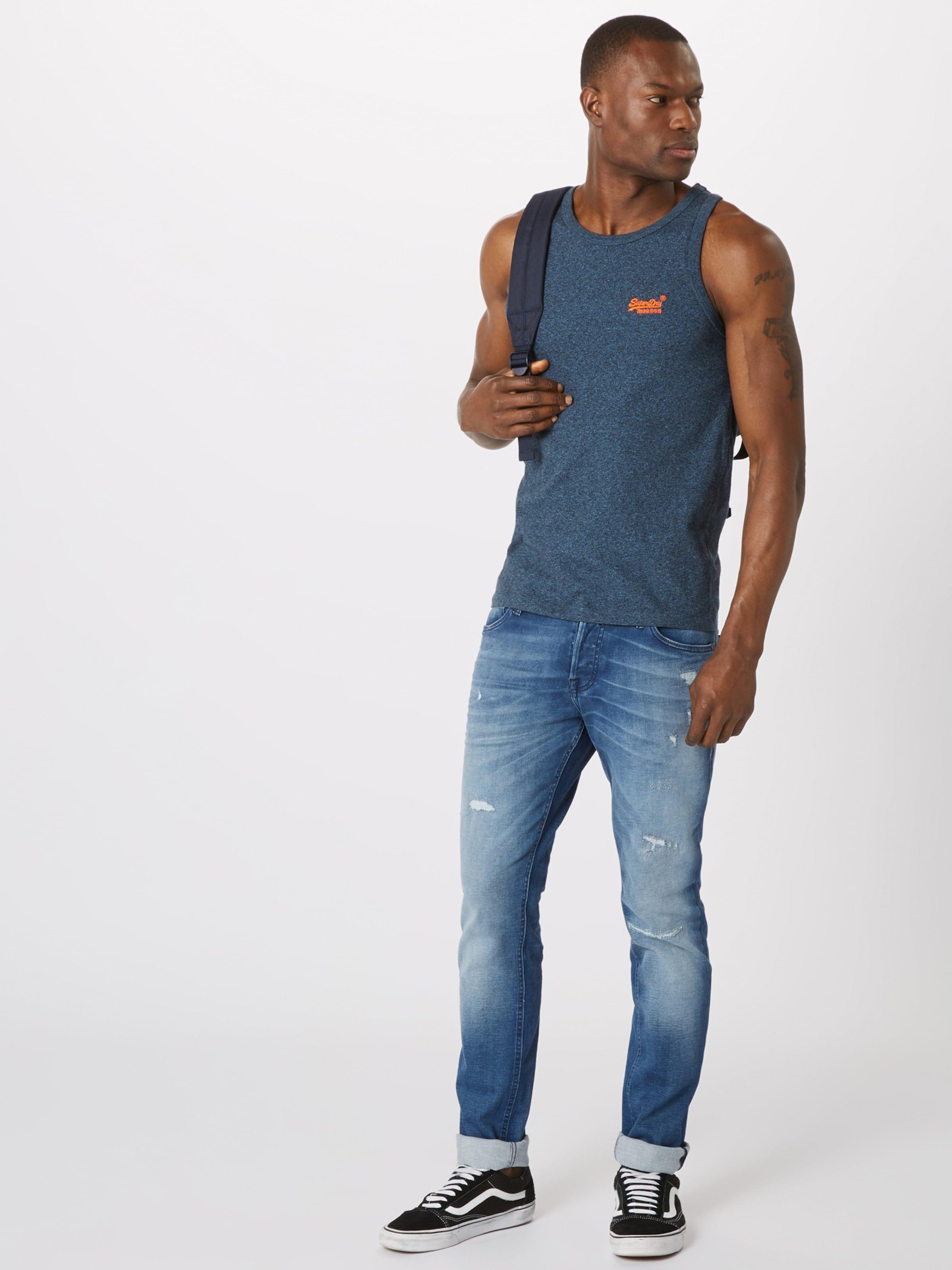 BleuOrange Superdry En Superdry T T shirt KlT3Jc1F