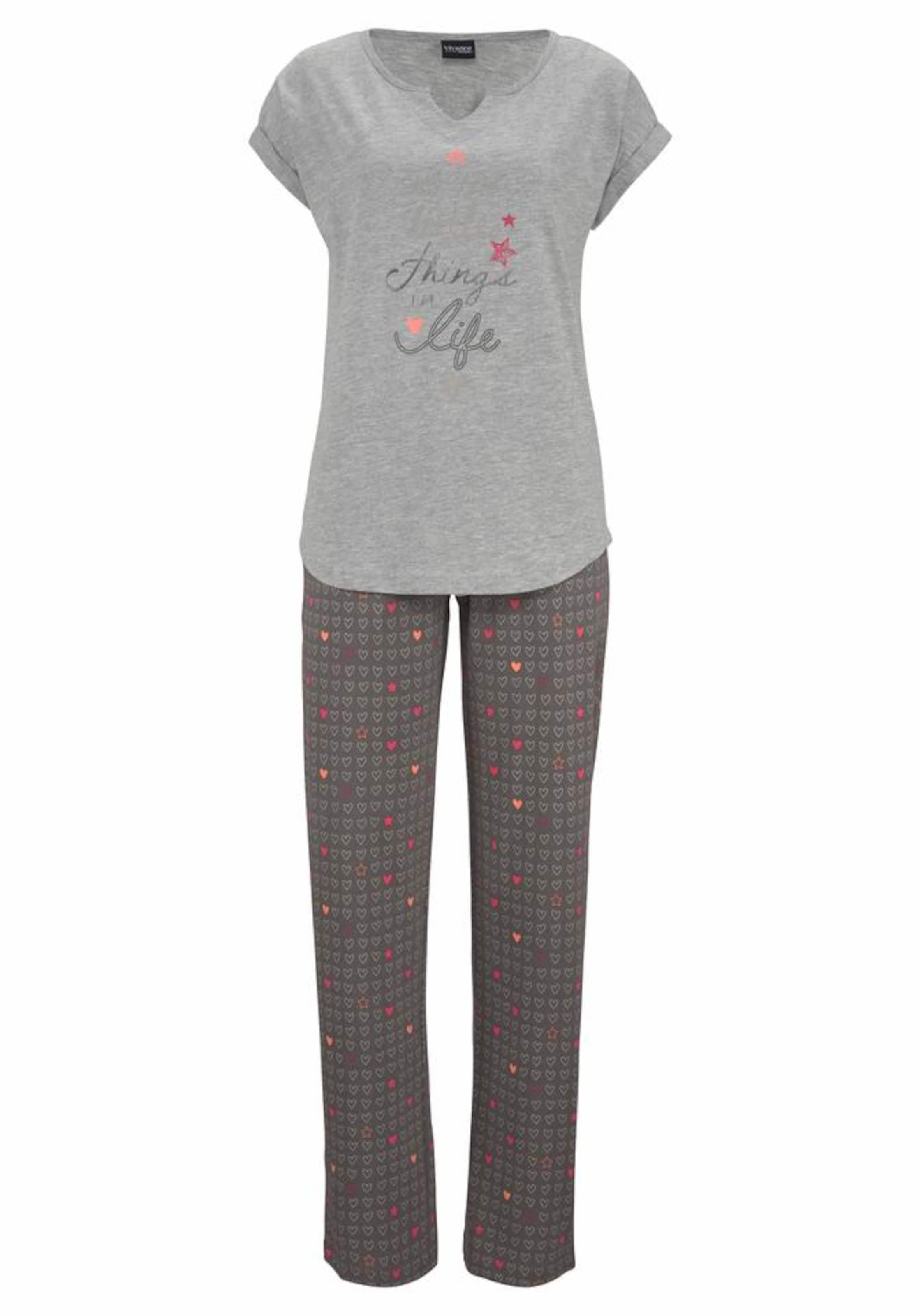 Echt Ausgezeichneter Günstiger Preis VIVANCE Dreams Pyjama Breite Palette Von Online kJkQpJpLx2