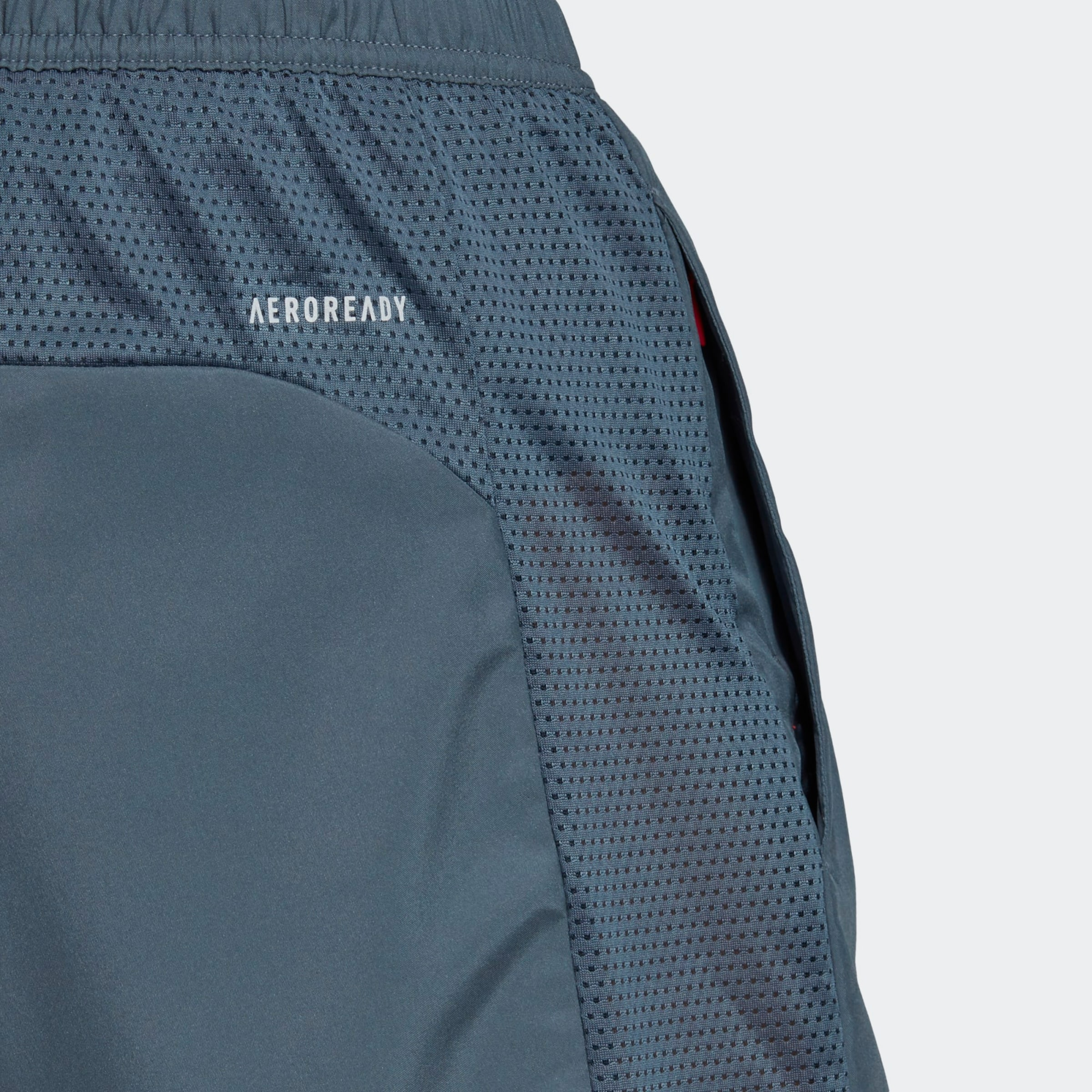 ADIDAS PERFORMANCE Sportbyxa 'Own the Run' i duvblå / grå