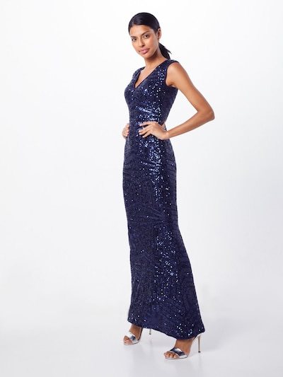 Lipsy Kleid 'WS NVY AO SQN MAXI' in navy, Modelansicht