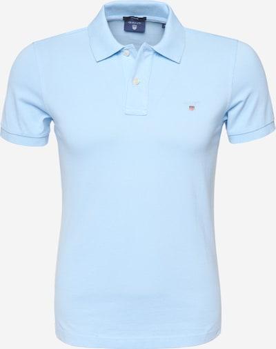 Marškinėliai iš GANT , spalva - šviesiai mėlyna, Prekių apžvalga