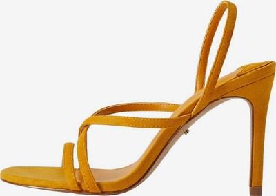 VIOLETA by Mango Sandalette 'Olimpia' in gelb, Produktansicht
