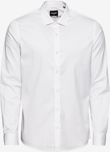 Only & Sons Hemd 'onsALVES LS 2-PLY EASY IRON SHIRT NOOS' in weiß, Produktansicht