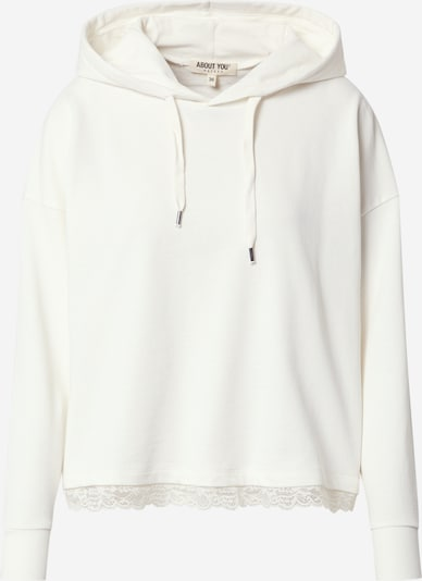 ABOUT YOU Sweatshirt  'Charleen' - (GOTS) in offwhite, Produktansicht