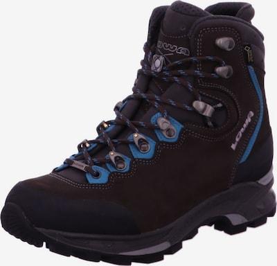 LOWA Boots in Smoke blue / Dark brown, Item view