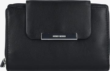 GERRY WEBER Geldbörse 'Vigo' 14,5 cm in Schwarz