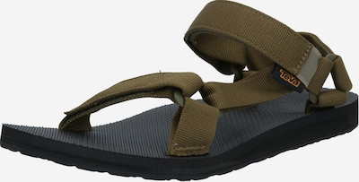 Sportinio tipo sandalai iš TEVA , spalva - alyvuogių spalva, Prekių apžvalga