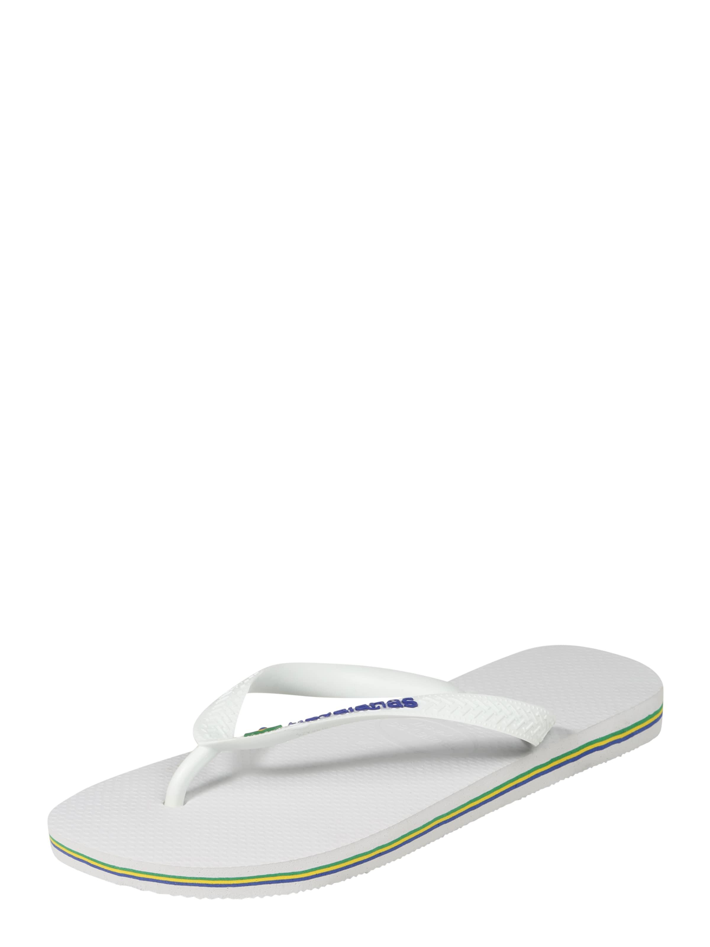 HAVAIANAS Badepantolette BRASIL Verschleißfeste billige Schuhe