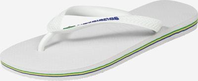 HAVAIANAS Japonki 'BRASIL' w kolorze białym, Podgląd produktu