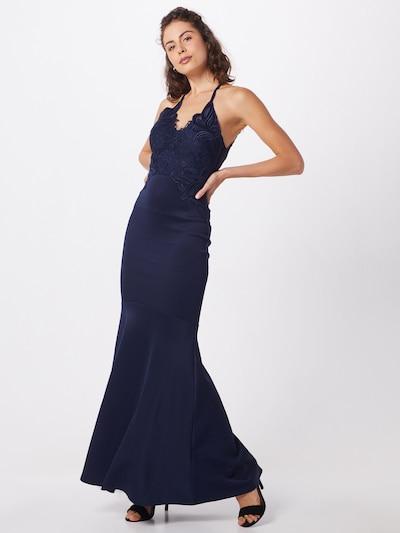 Vakarinė suknelė 'REPEAT AC AUG APPLIQUE MAXI DRESS' iš Lipsy , spalva - tamsiai mėlyna: Vaizdas iš priekio