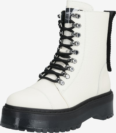 BRONX Boots 'RIFKA-SUPER-CHUNKY' en blanc, Vue avec produit