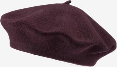 LOEVENICH Baskenmütze in aubergine, Produktansicht