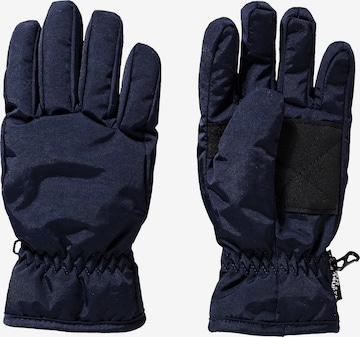 DÖLL Fingerhandschuhe in Blau