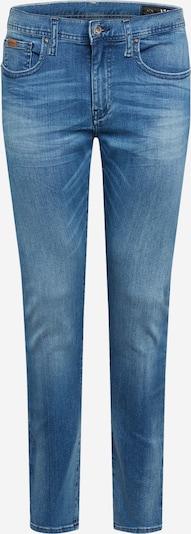 Jeans ARMANI EXCHANGE pe denim albastru, Vizualizare produs