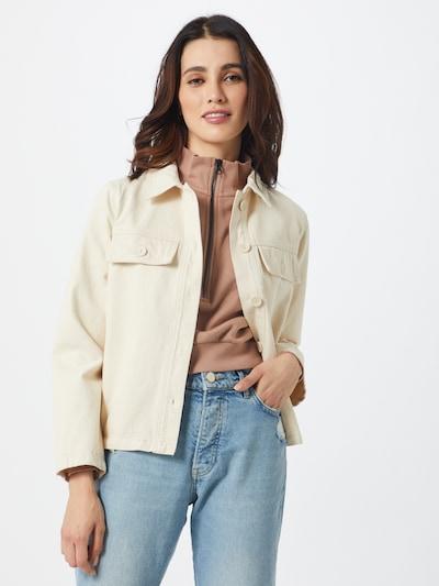 OBJECT Jacke in creme / weiß, Modelansicht