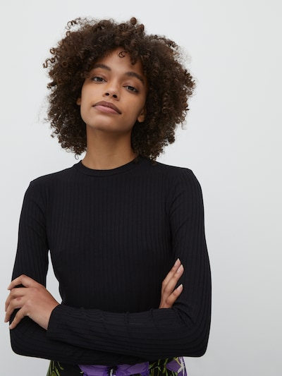 EDITED T-Krekls 'Ginger' pieejami melns: Priekšējais skats