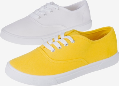 UNLIMITED Sneaker in neongelb / weiß, Produktansicht