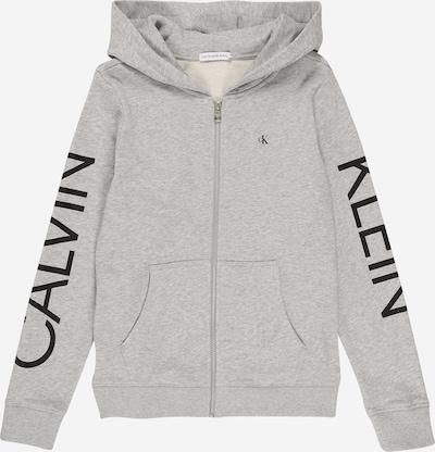 világosszürke Calvin Klein Jeans Tréning dzseki 'HERO LOGO ZIP HOODIE', Termék nézet