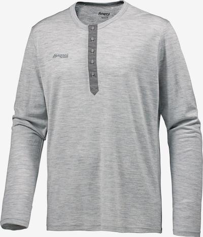 Bergans Functioneel shirt in de kleur Lichtgrijs / Donkergrijs, Productweergave