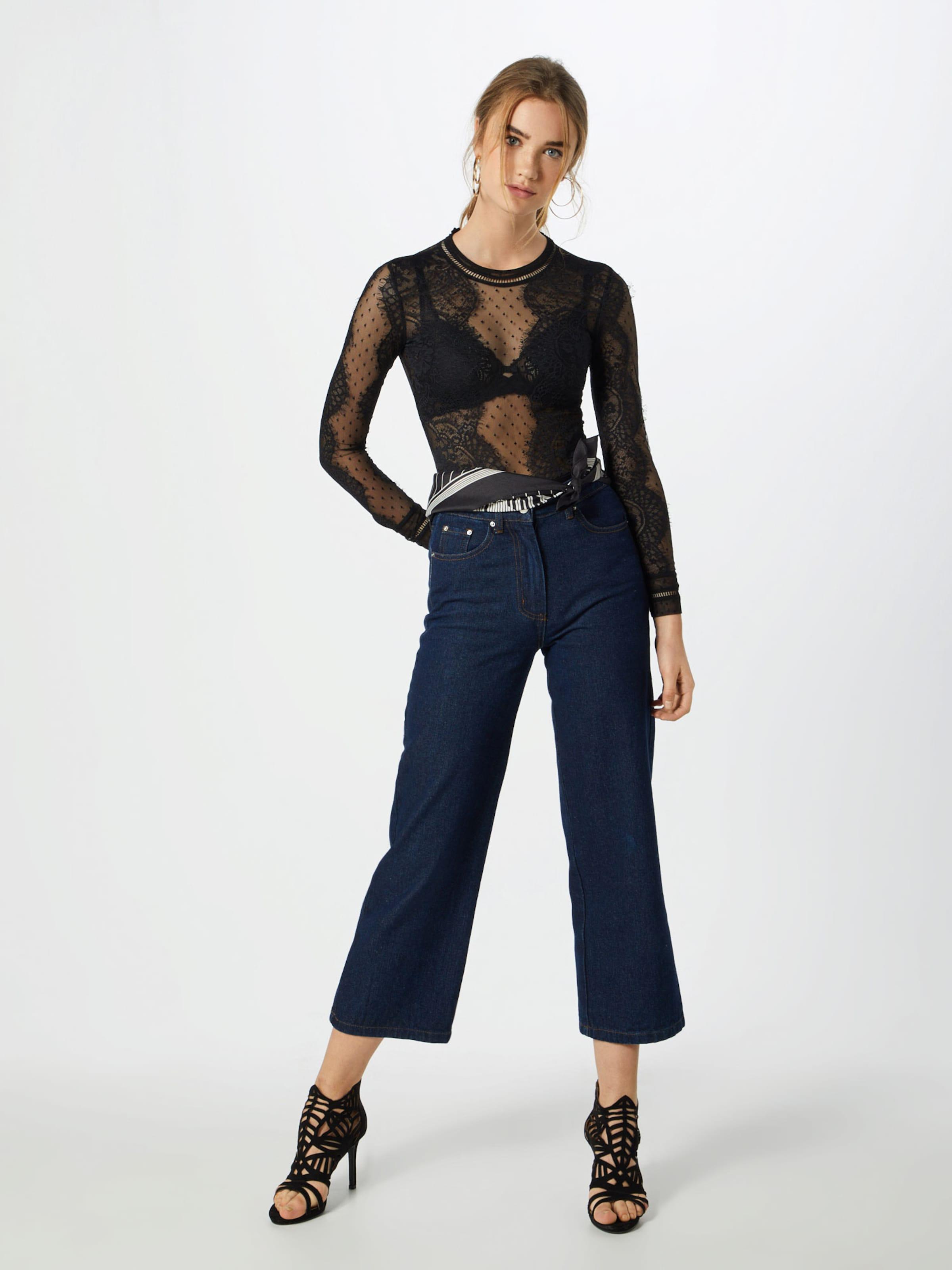 Body Bardot Schwarz In 'opia Bodysuit' Lace DYeWH9E2I