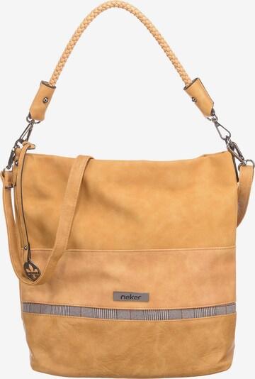 RIEKER Handbag 'Hobo' in Yellow / Honey / Rusty red / Black / Wool white, Item view