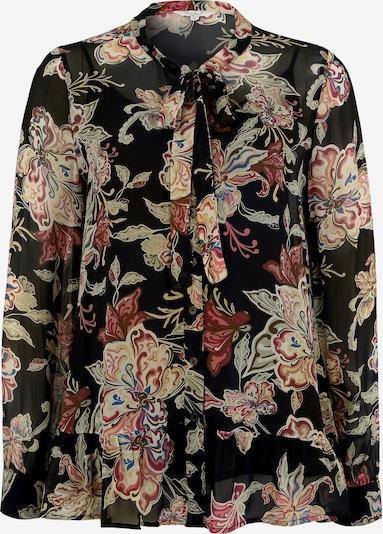 Frogbox Bluse in mischfarben / schwarz, Produktansicht
