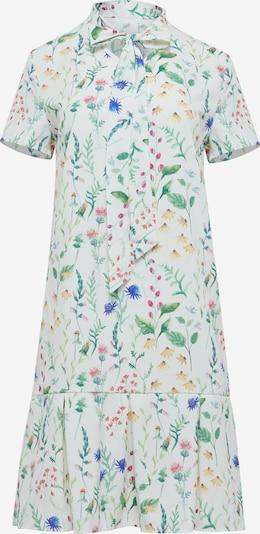 Usha Kleid in mischfarben / weiß, Produktansicht
