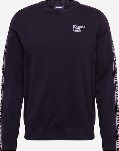 DIESEL Pullover 'K-TRACKY-C PULLOVER' in schwarz, Produktansicht