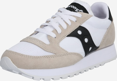 saucony Baskets basses 'JAZZ ORIGINAL VINTAGE' en beige / noir / blanc, Vue avec produit