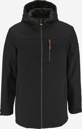 POLARINO Winterjacke in schwarz, Produktansicht