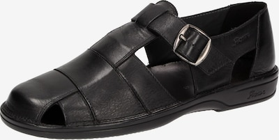 SIOUX Sandale 'Gabun' in schwarz, Produktansicht
