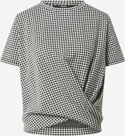 Someday T-Shirt 'Katonka' in schwarz / weiß, Produktansicht