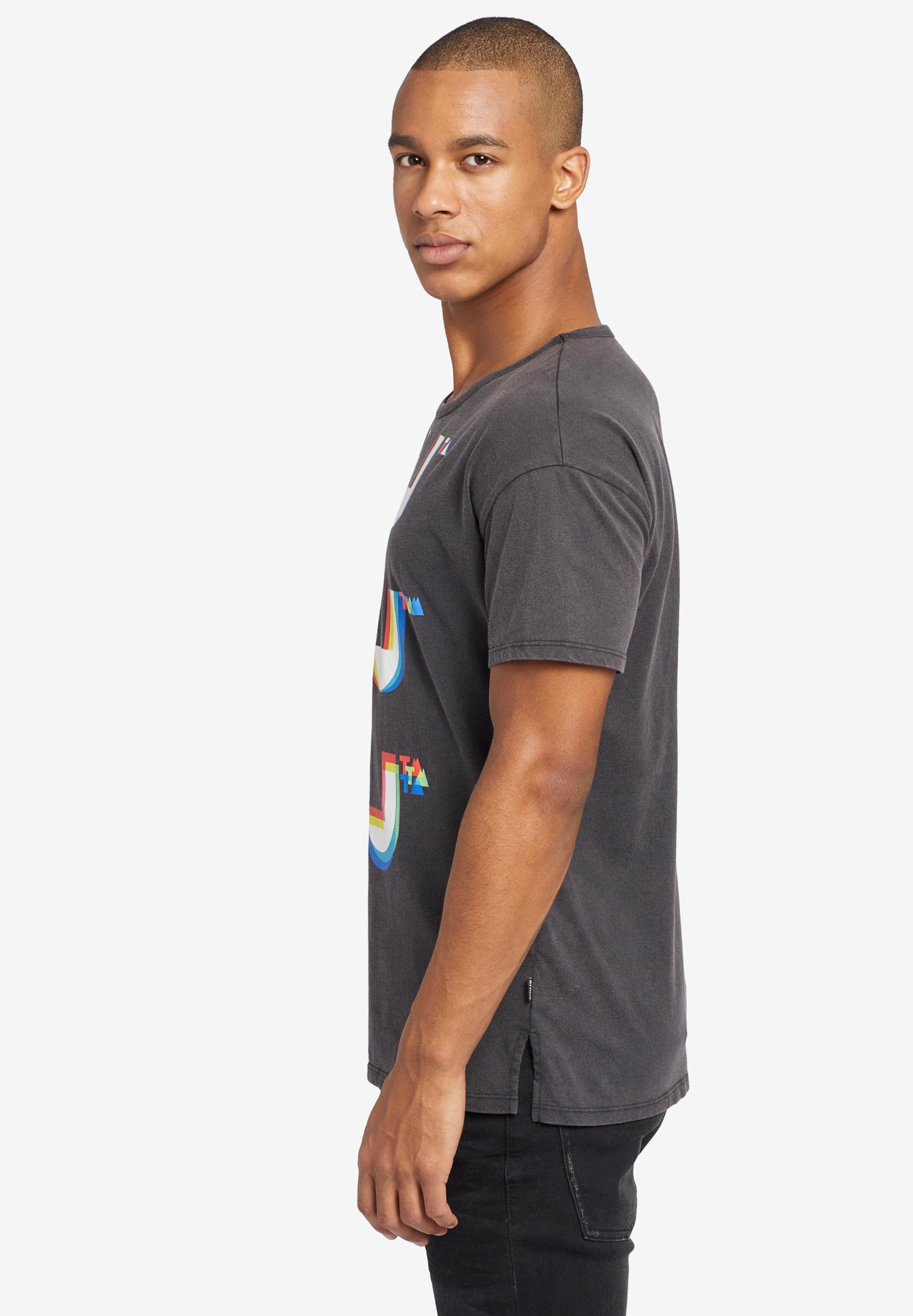 'willi Bits' T Khujo shirt In Weiß GraphitMischfarben OPX0n8wk
