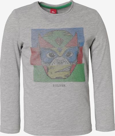 s.Oliver Shirt in graumeliert / mischfarben, Produktansicht