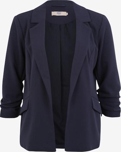 ONLY Carmakoma Blazer 'HALEQUIN DIANA' in dunkelblau, Produktansicht
