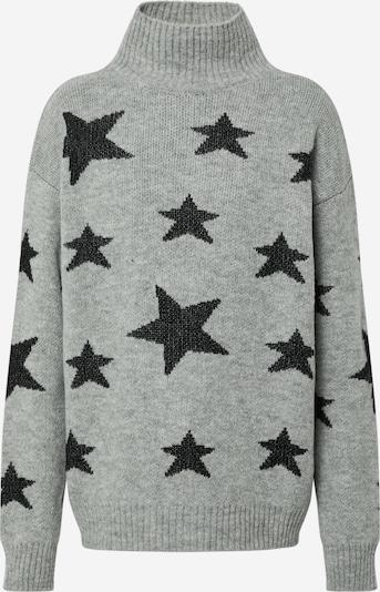 Trendyol Pullover 'Jumper' in grau / schwarz, Produktansicht