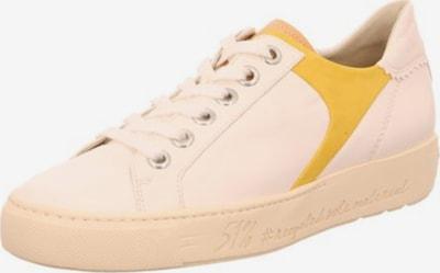 Paul Green Schnürschuhe in gelb / weiß, Produktansicht