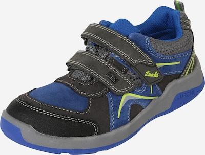 LURCHI Sneaker 'Matthias-Tex' in blau / gelb / grau, Produktansicht