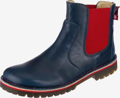 Grünbein Anke Chelsea Boots in blau / rot, Produktansicht