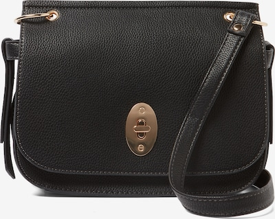 TOM TAILOR Umhängetasche 'Krystal Flapbag' in schwarz, Produktansicht