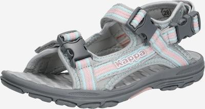 KAPPA Sandale in grau / rosa, Produktansicht
