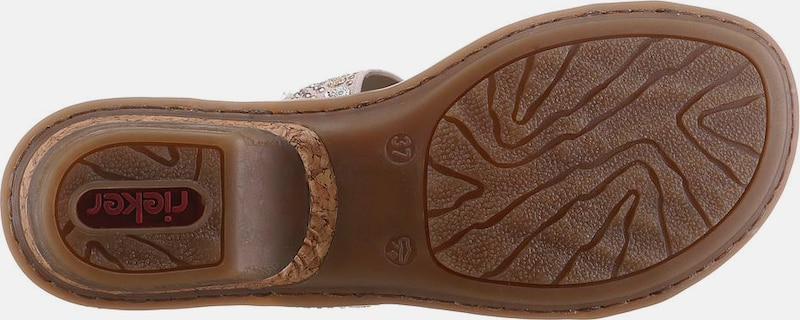 RIEKER Pantolette Günstige und langlebige Schuhe