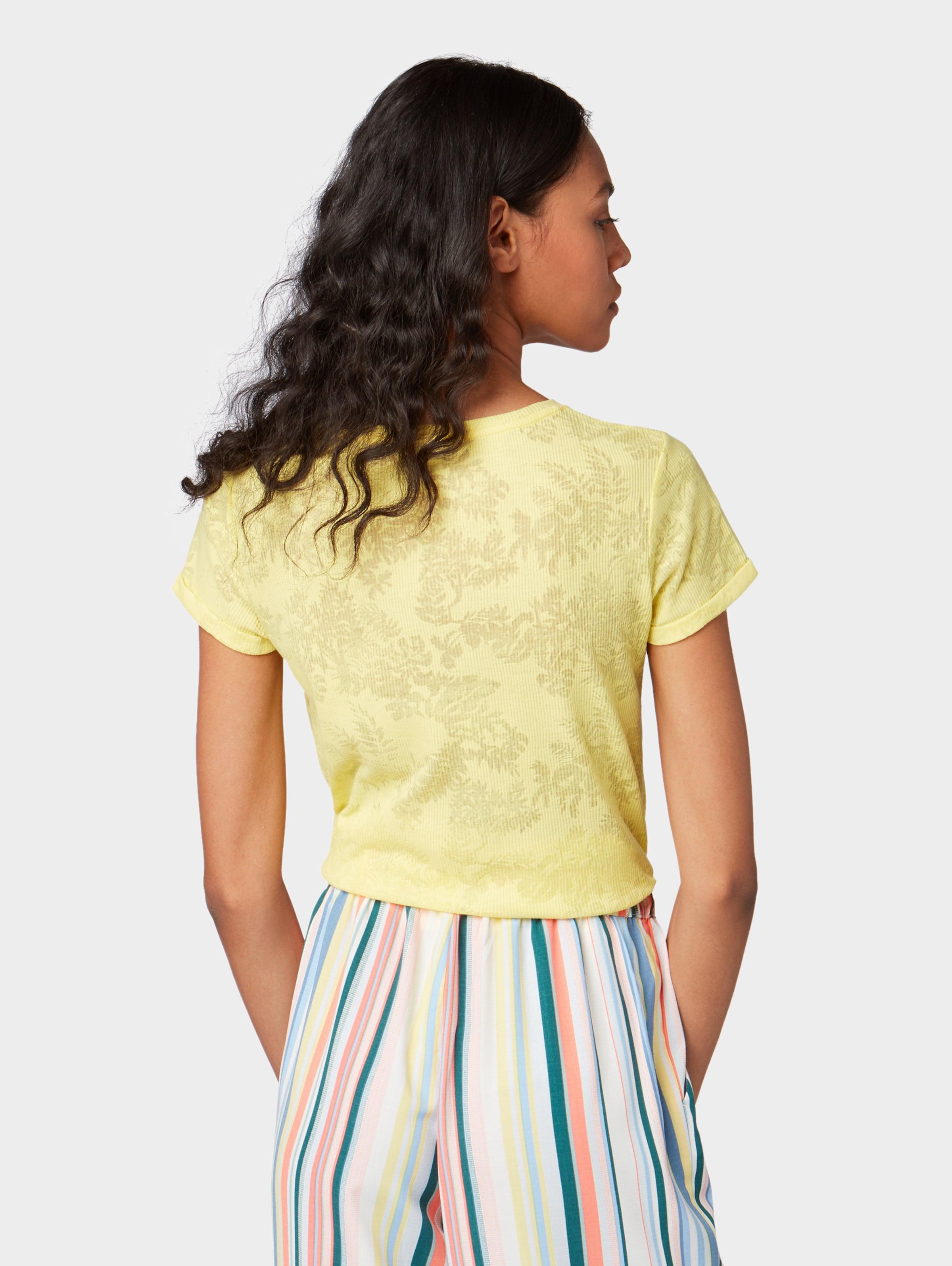 shirt Tailor Gelb In Denim T Tom 7bvfgyY6