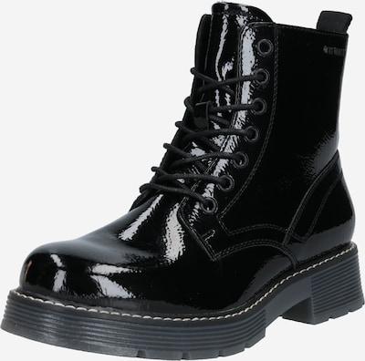 TOM TAILOR Veterlaarsjes in de kleur Zwart, Productweergave