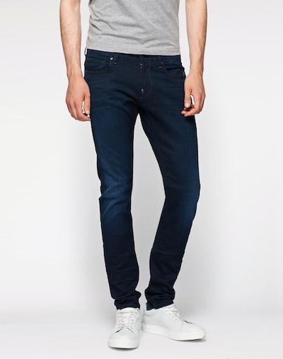 Jeans 'Revend Super Slim' G-Star RAW pe albastru: Privire frontală