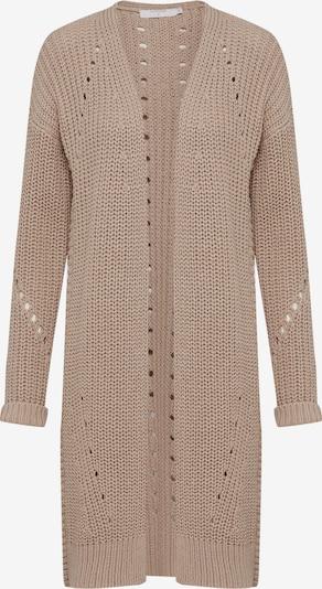 Cream Gebreid vest 'Vasia knit Cardigan' in de kleur Mokka, Productweergave