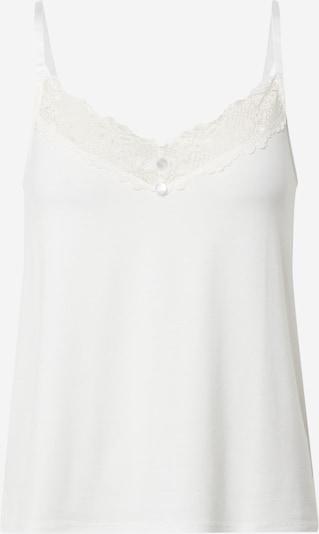 VILA Chemise de nuit 'VIRAVI SINGLET' en blanc, Vue avec produit