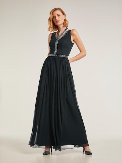 heine Festkjole i sort, Modelvisning